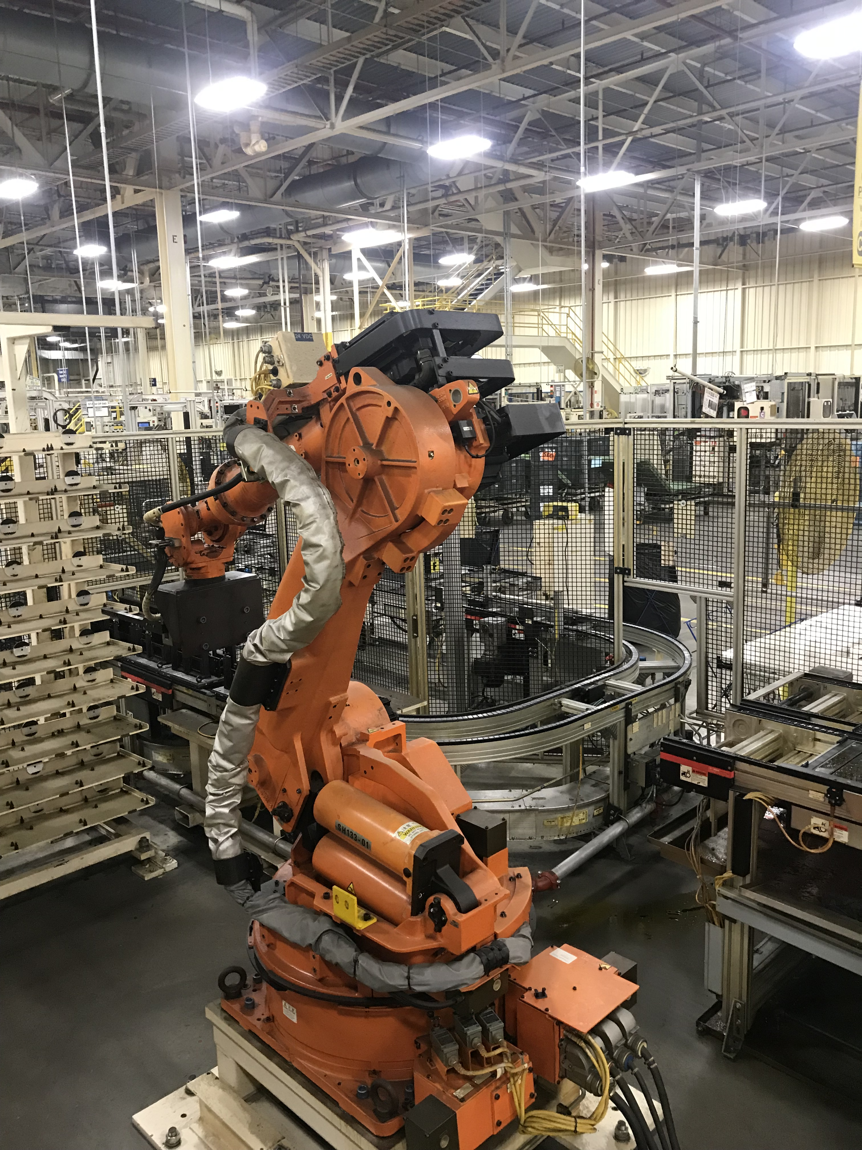 Lot 154 - 2002 Nachi SH-133-01 Robot