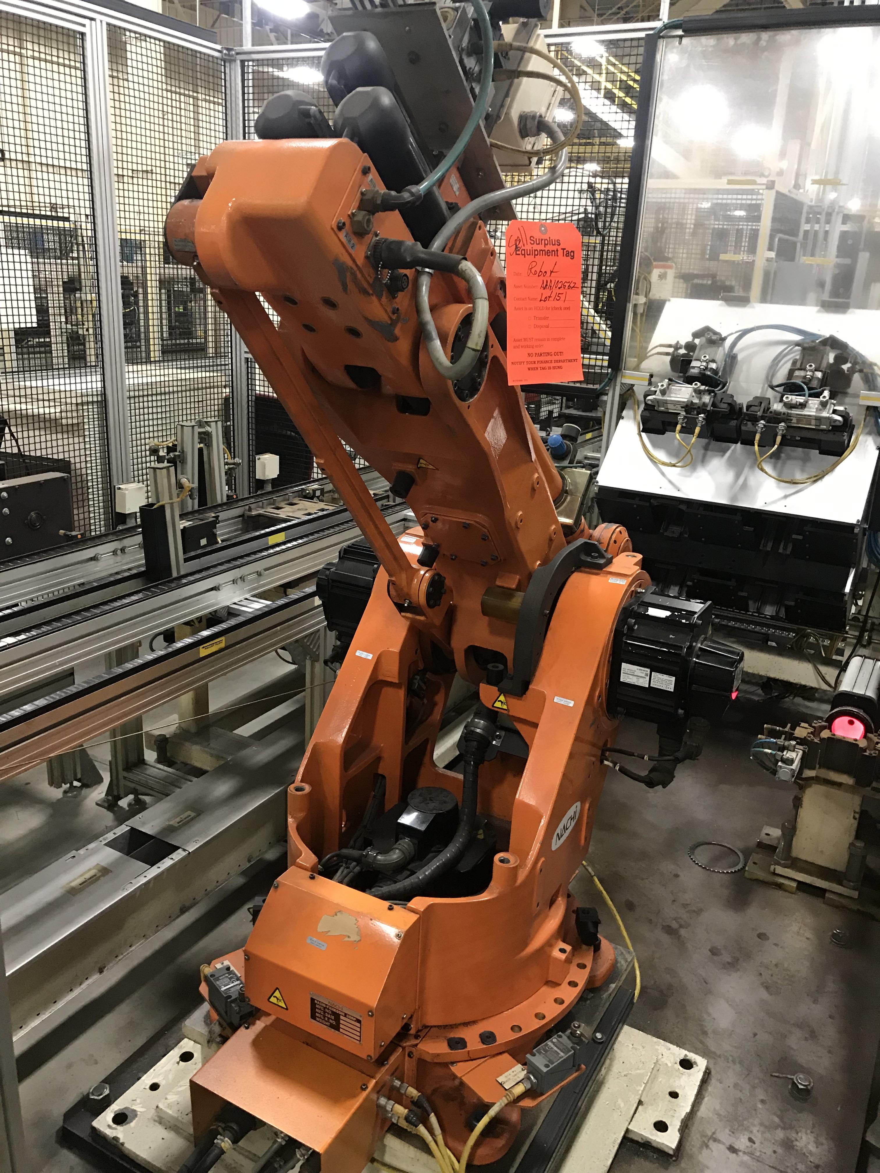 Lot 151 - 2002 Nachi SC50F-01 Robot