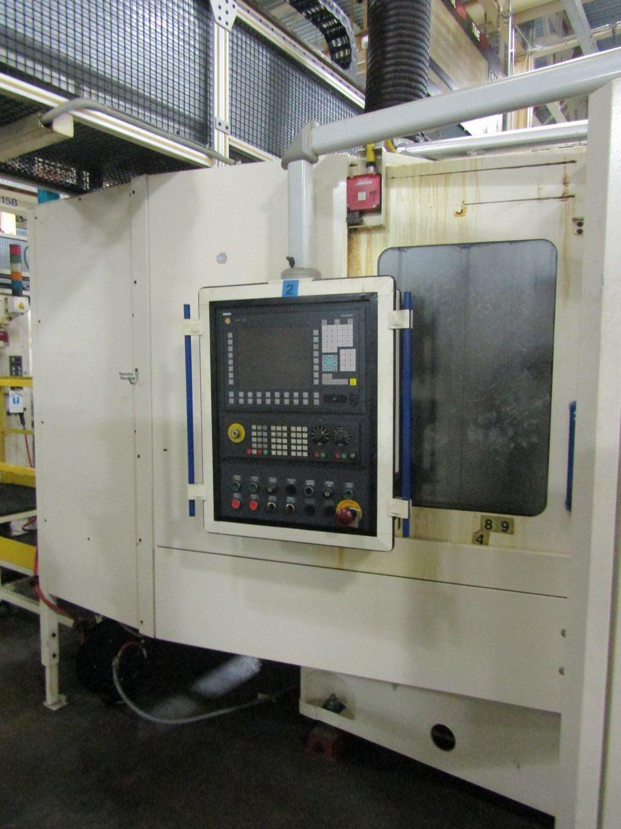 Lot 114 - 2002 Heller MC16 CNC Horizontal Machining Center