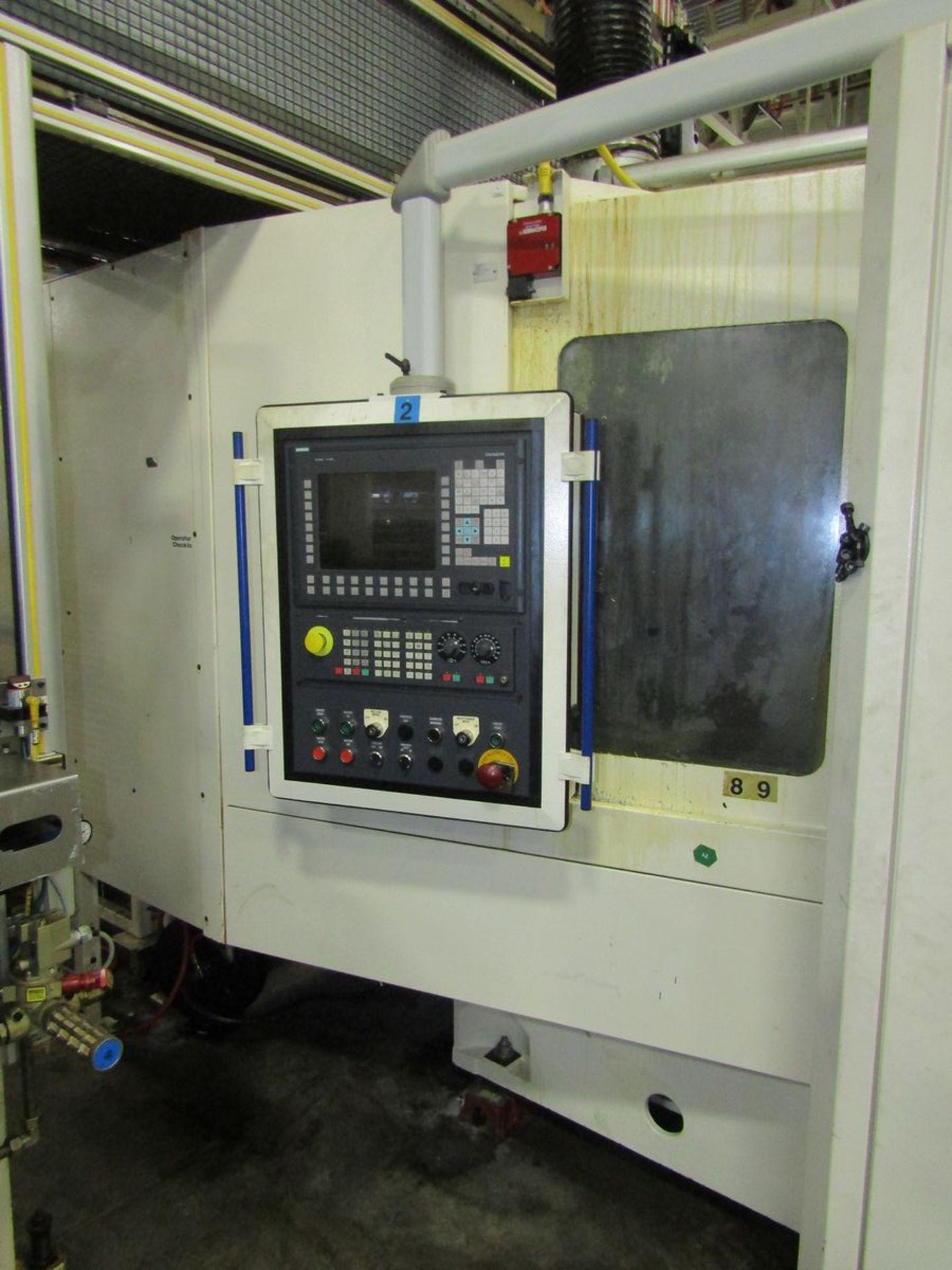 Lot 115 - 2002 Heller MC16 CNC Horizontal Machining Center