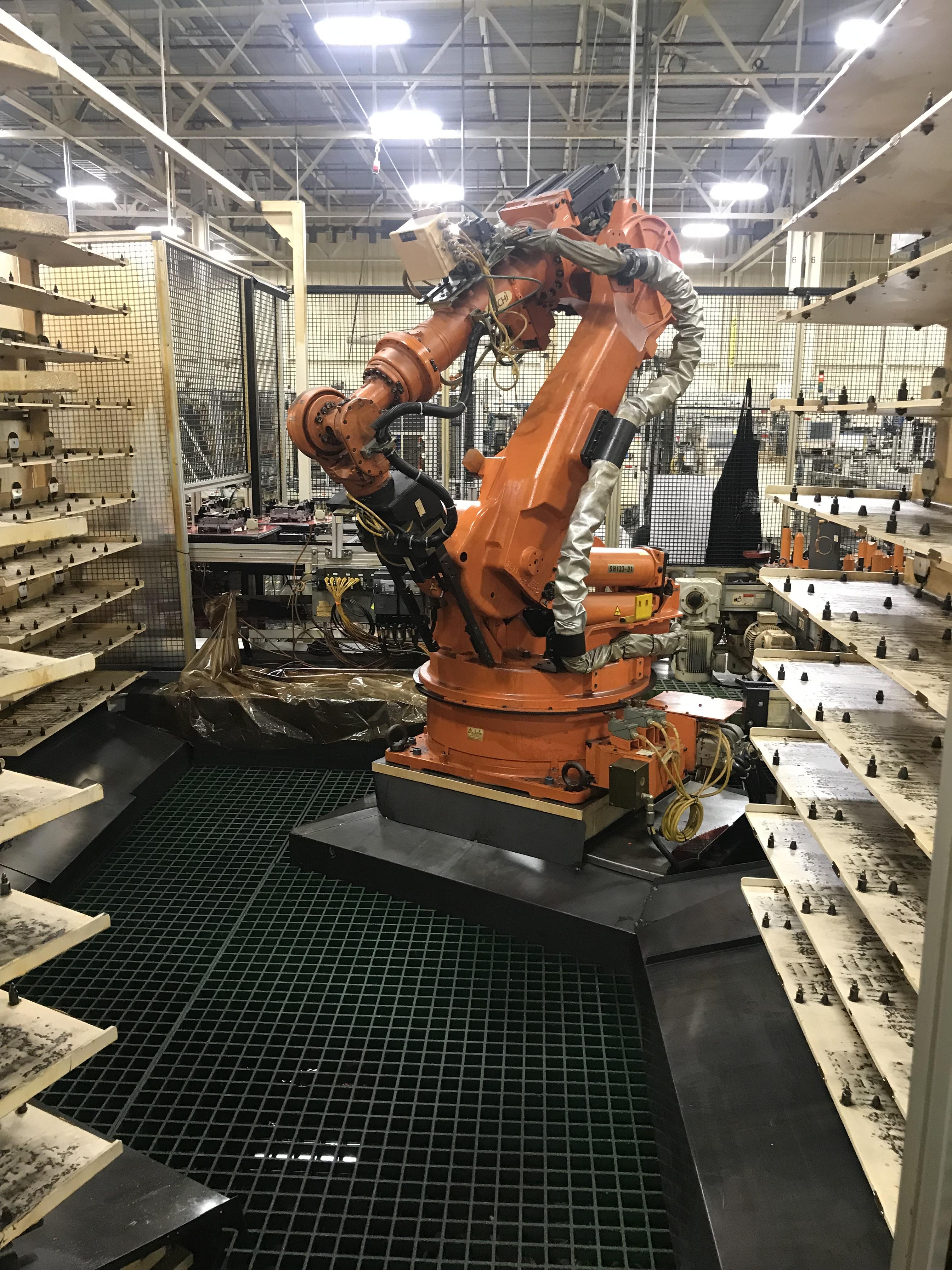 Lot 155 - 2002 Nachi SH-133-01 Robot