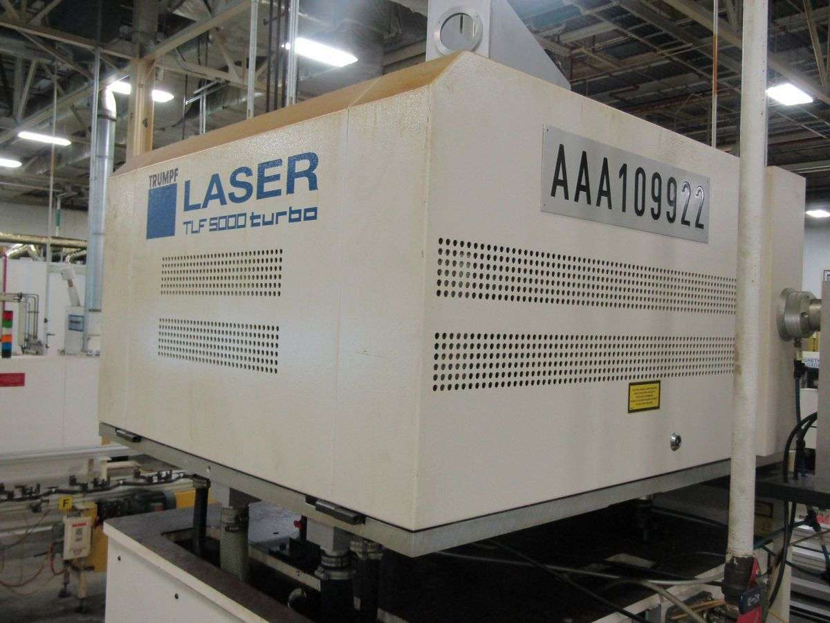 Lot 26A - Trumpf TLF5000 Turbo Laser Power Supply (only)