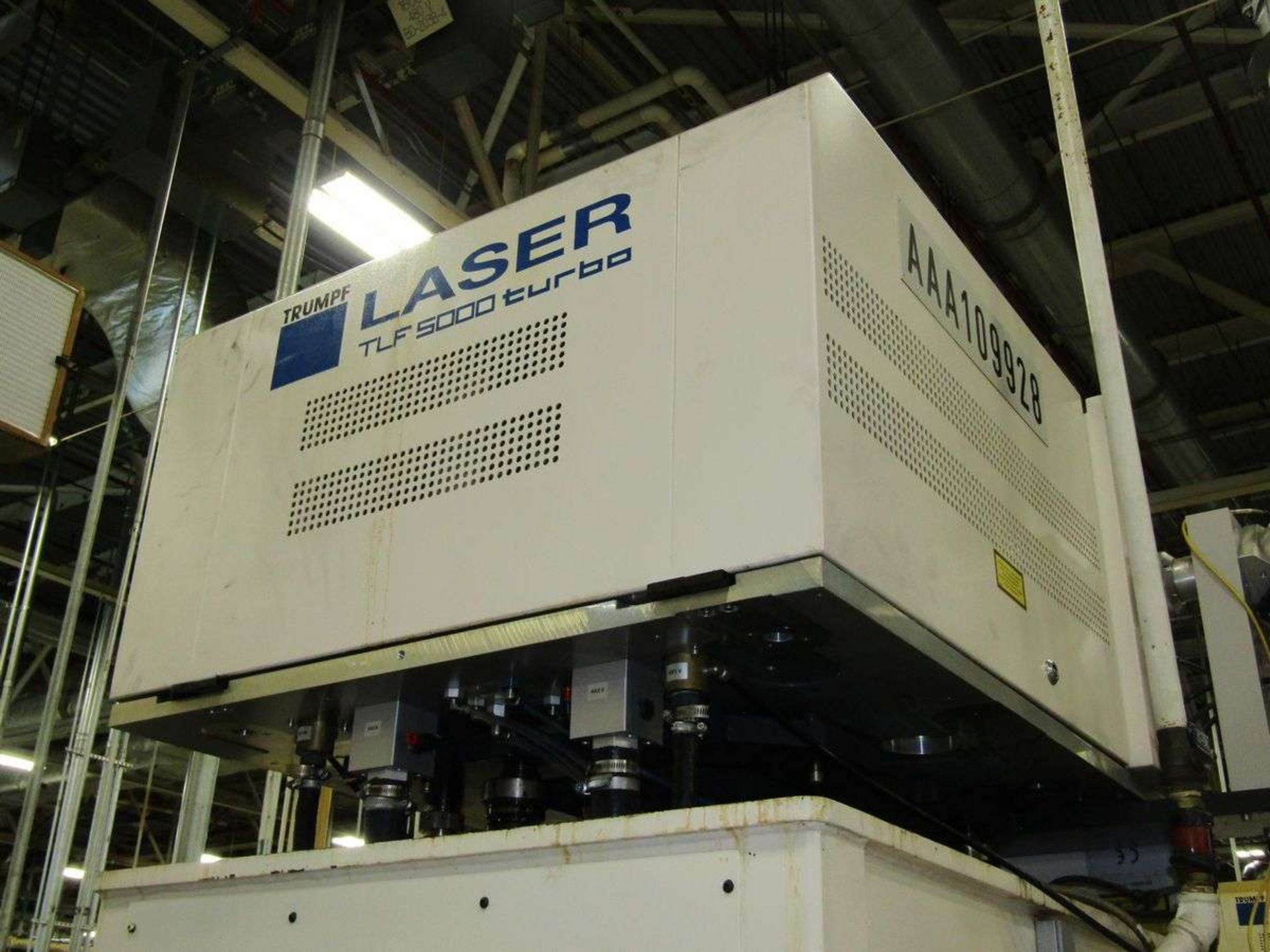 Lot 25A - Trumpf TLF5000 Turbo Laser Power Supply (only)