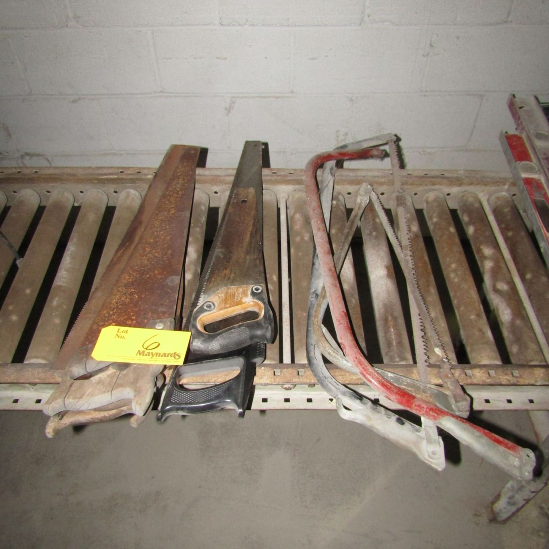 Lot 6 - Lot of Assorted Wood Cutting Hand Saws