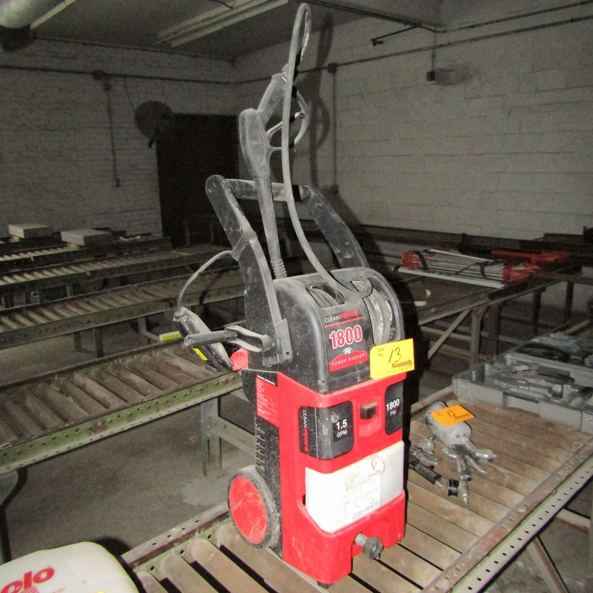 Lot 13 - Cleanforce CF1800HD 1800 PSI Electric Power Washer