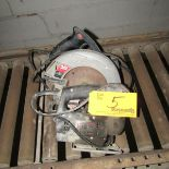 Lot 5 - Skilsaw Electric Saws