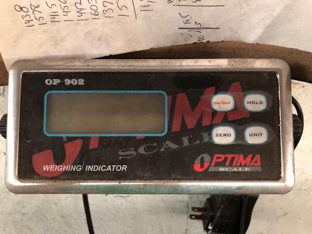 Lot 4 - Optima Scale OP-902 Scale