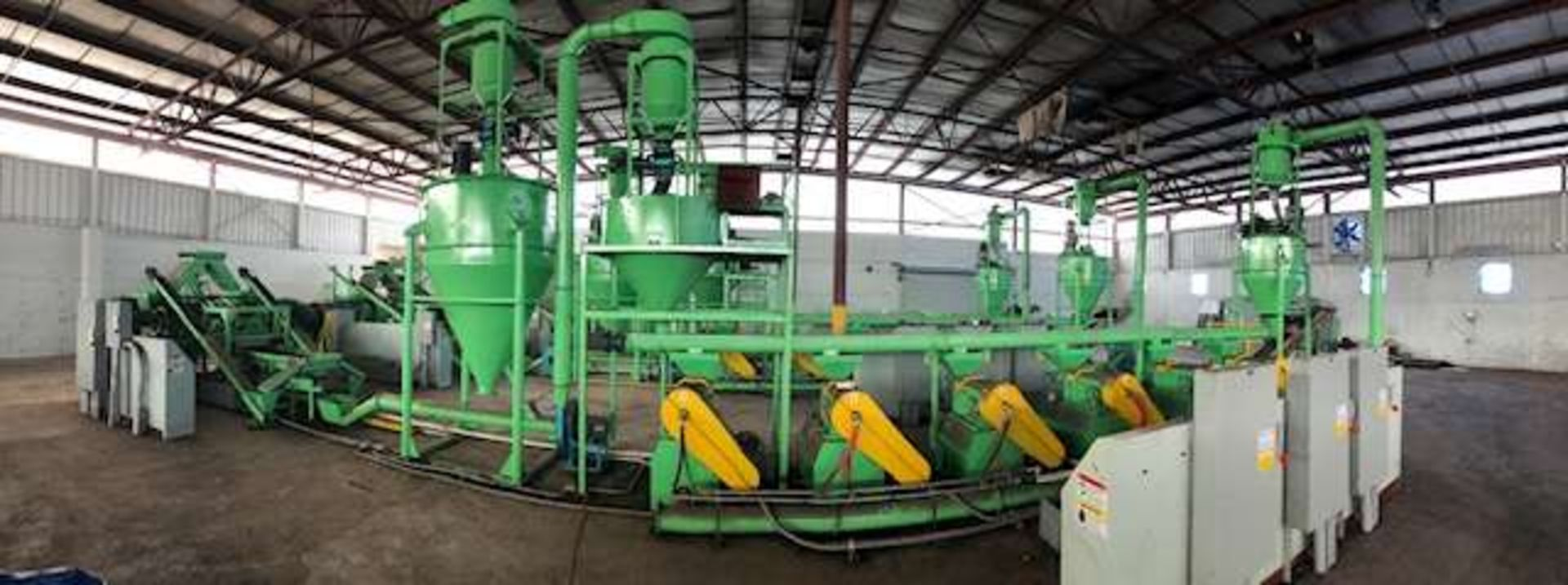 Lot 29 - 2014 Jiangyin Jinall International Trade Co. Tire Recycling Line