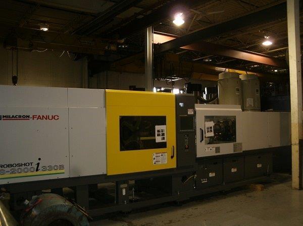 2009 & 2008 330-Ton Cincinnati Roboshot Mdl: S2000I-330B Electric Injection Molders