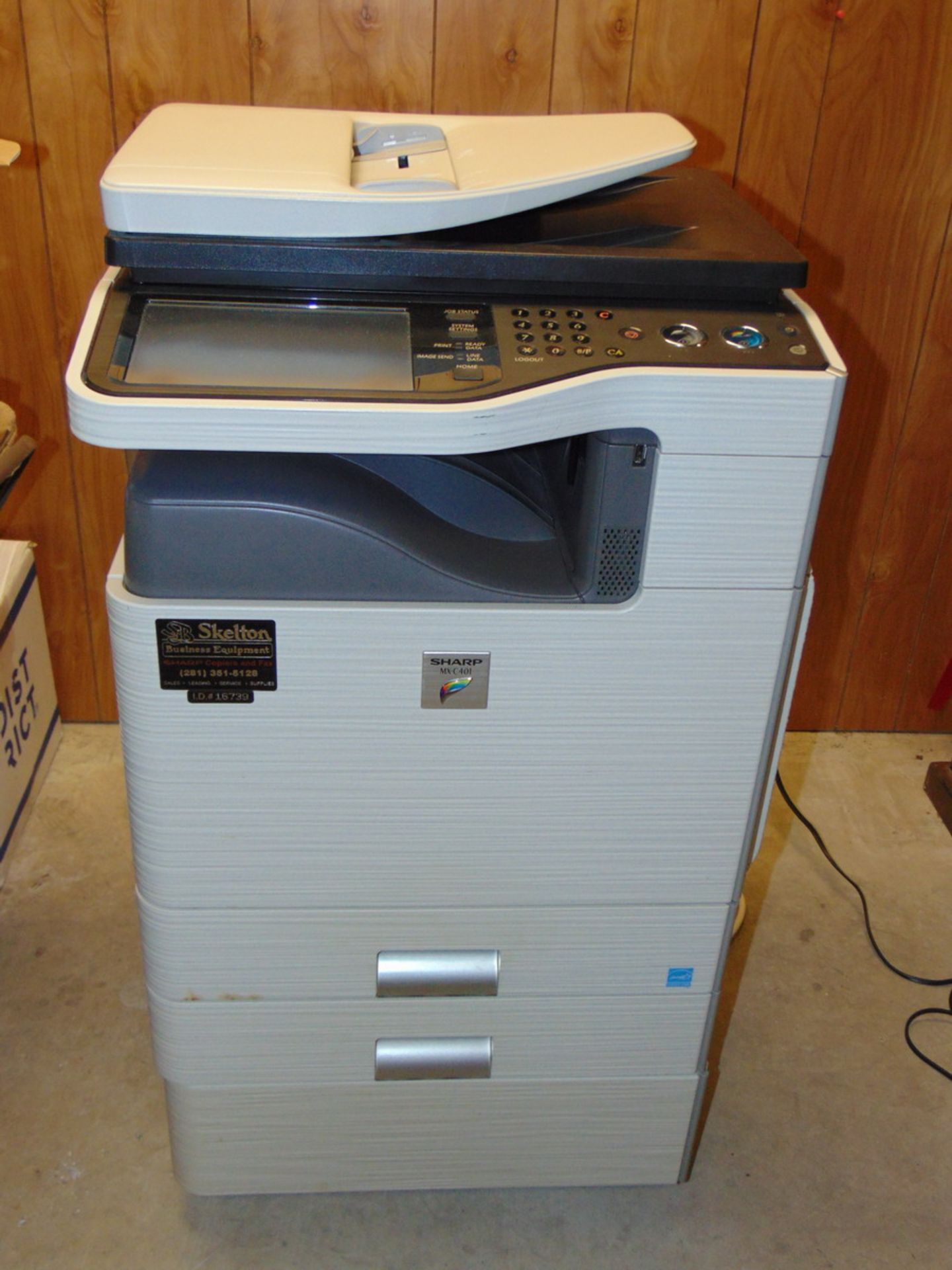 Lot 146 - Sharp MX-C401 Multifunction Color Printer / Copier / Scanner