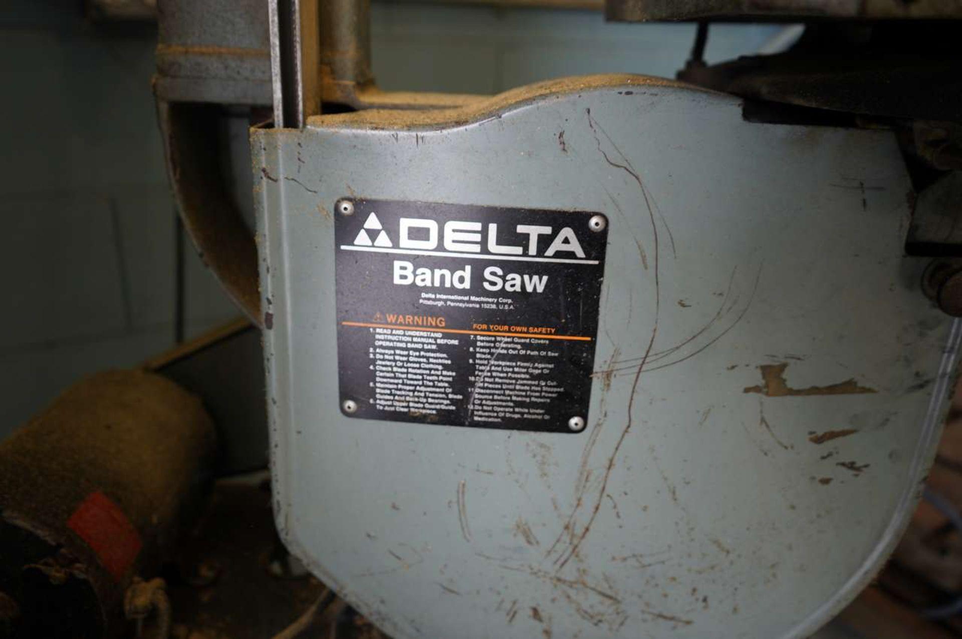 Lot 11B - Delta Band Saw