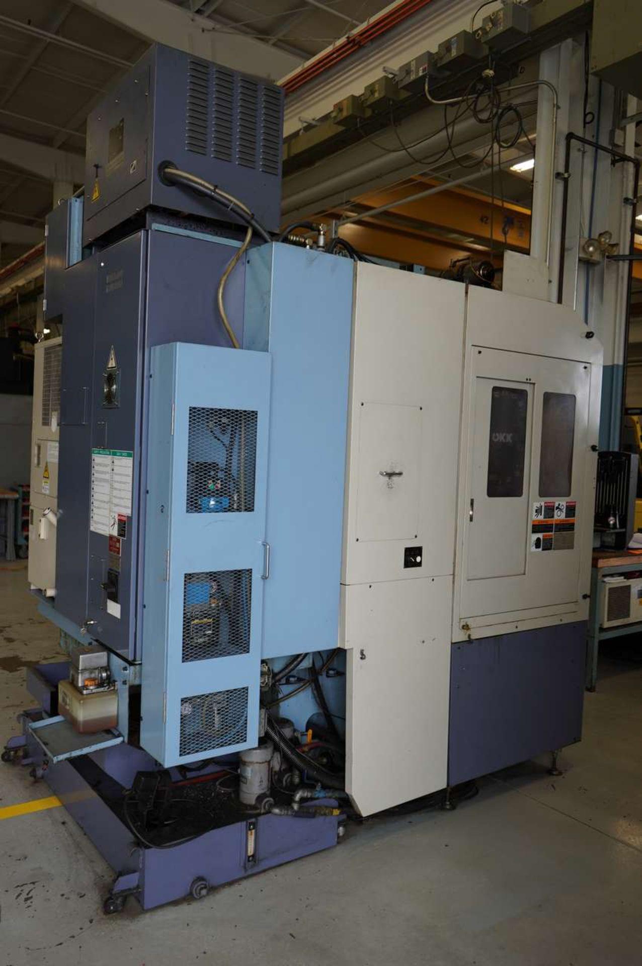 Lot 32 - 2005 OKK PG8 CNC Vertical Machining Center