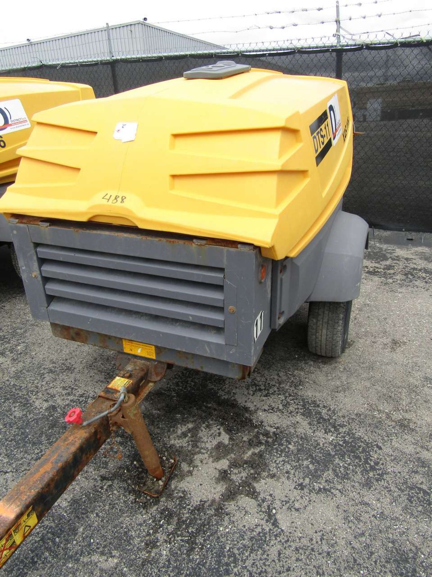 Lot 488 - Atlas Copco XAS 185 KD7 Compressor, 185 CFM