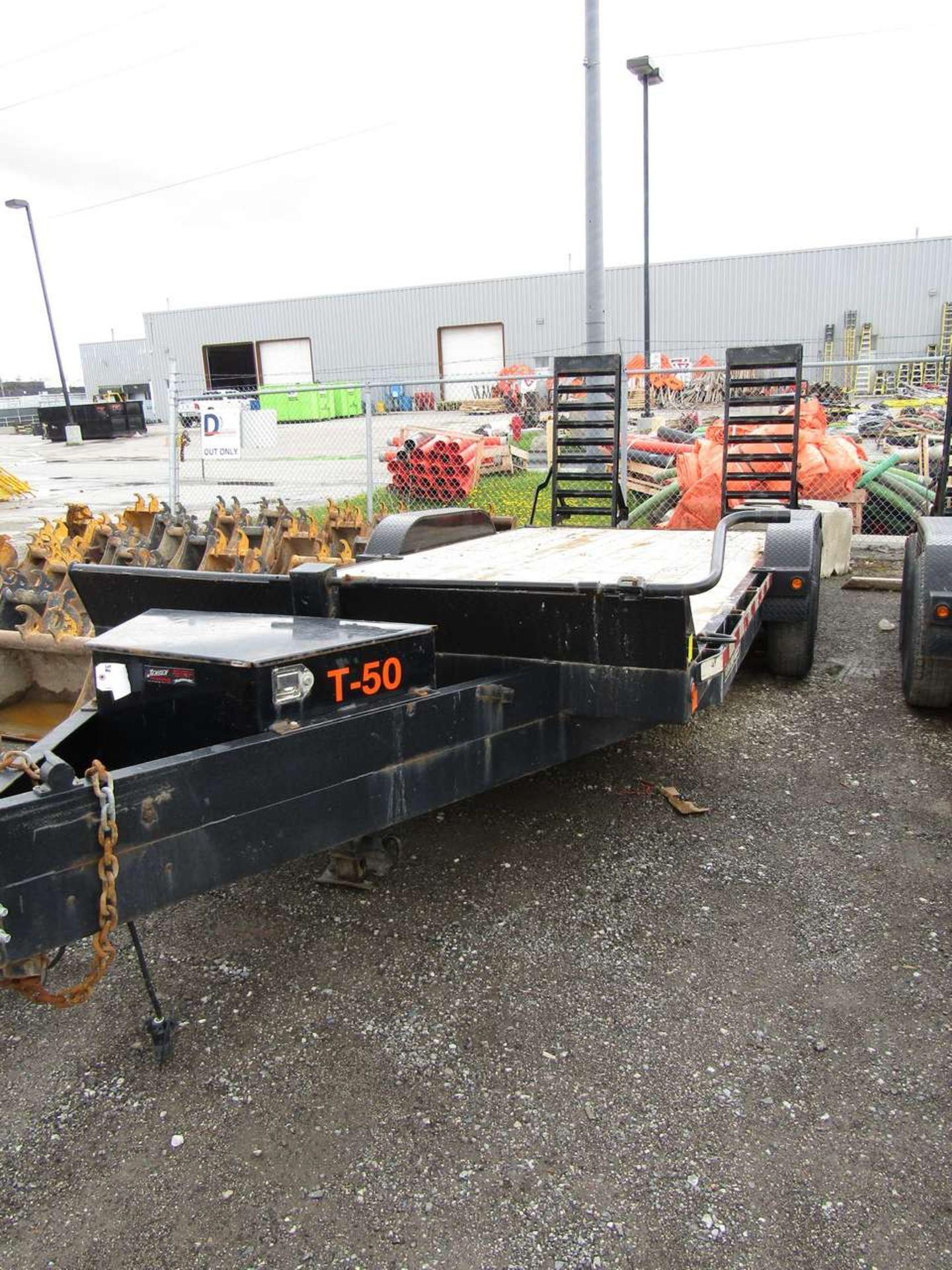 Lot 610 - 2017 Jensen 719 7 Ton Flat Deck