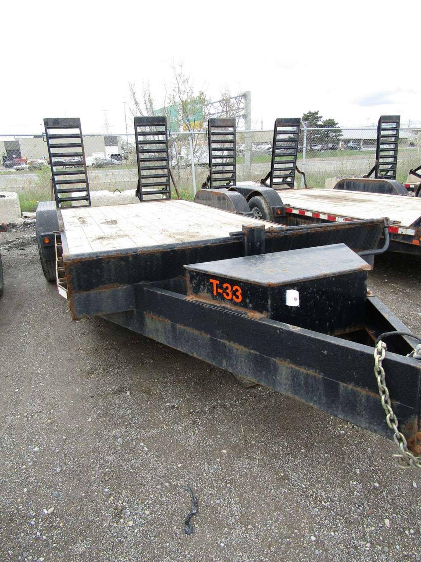 Lot 627 - 2015 Jensen 718 7 Ton Flat Deck