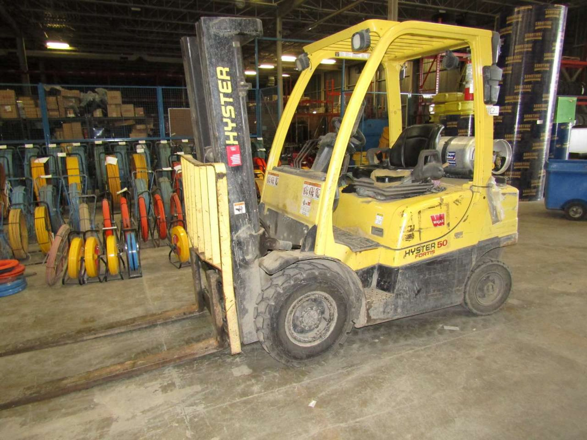 Lot 652 - Hyster H 100FT 2 Ton Forklift 5,569 Hours