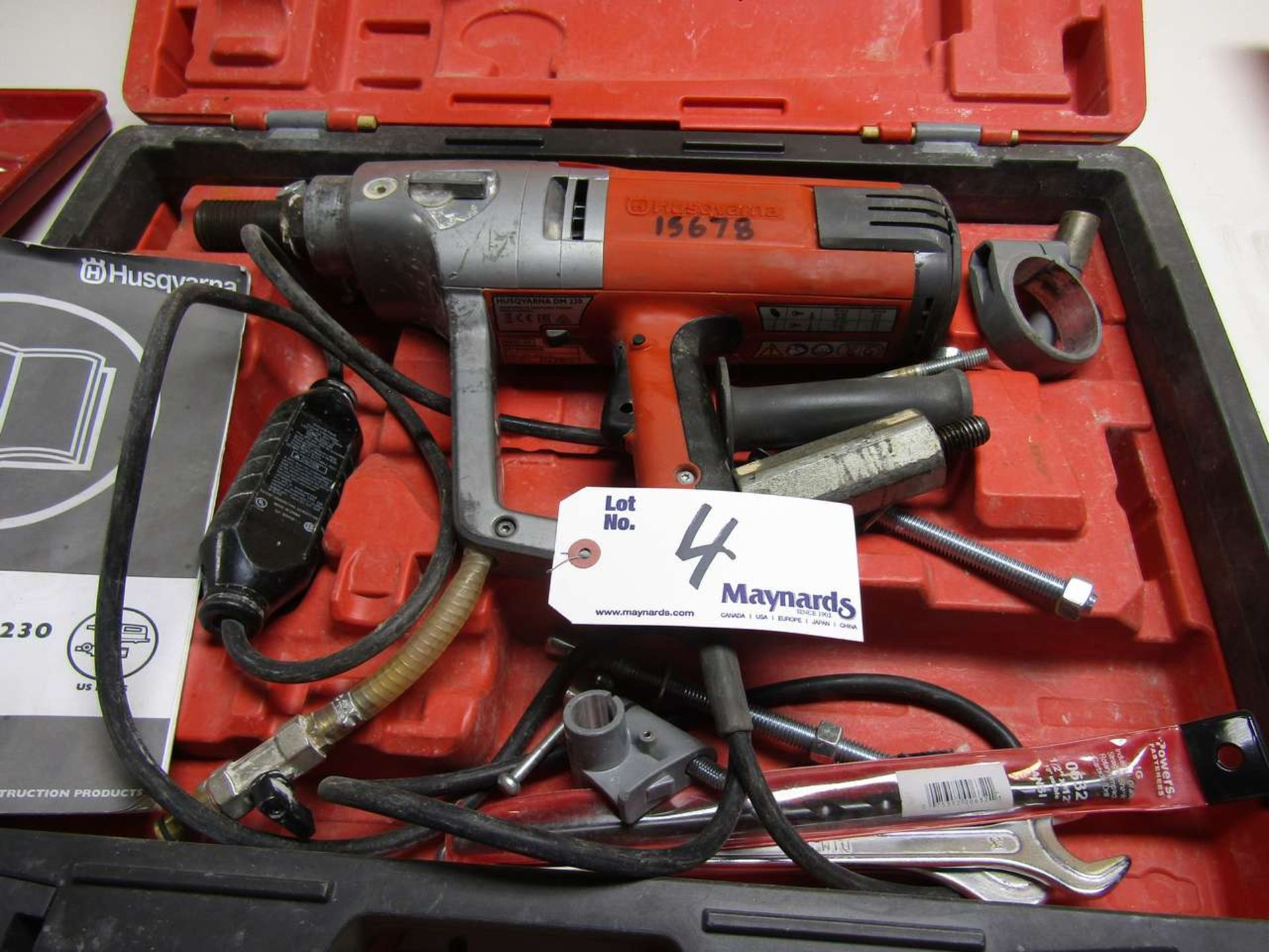 Lotto 4 - Husqvarna DM230 Drilling Machine