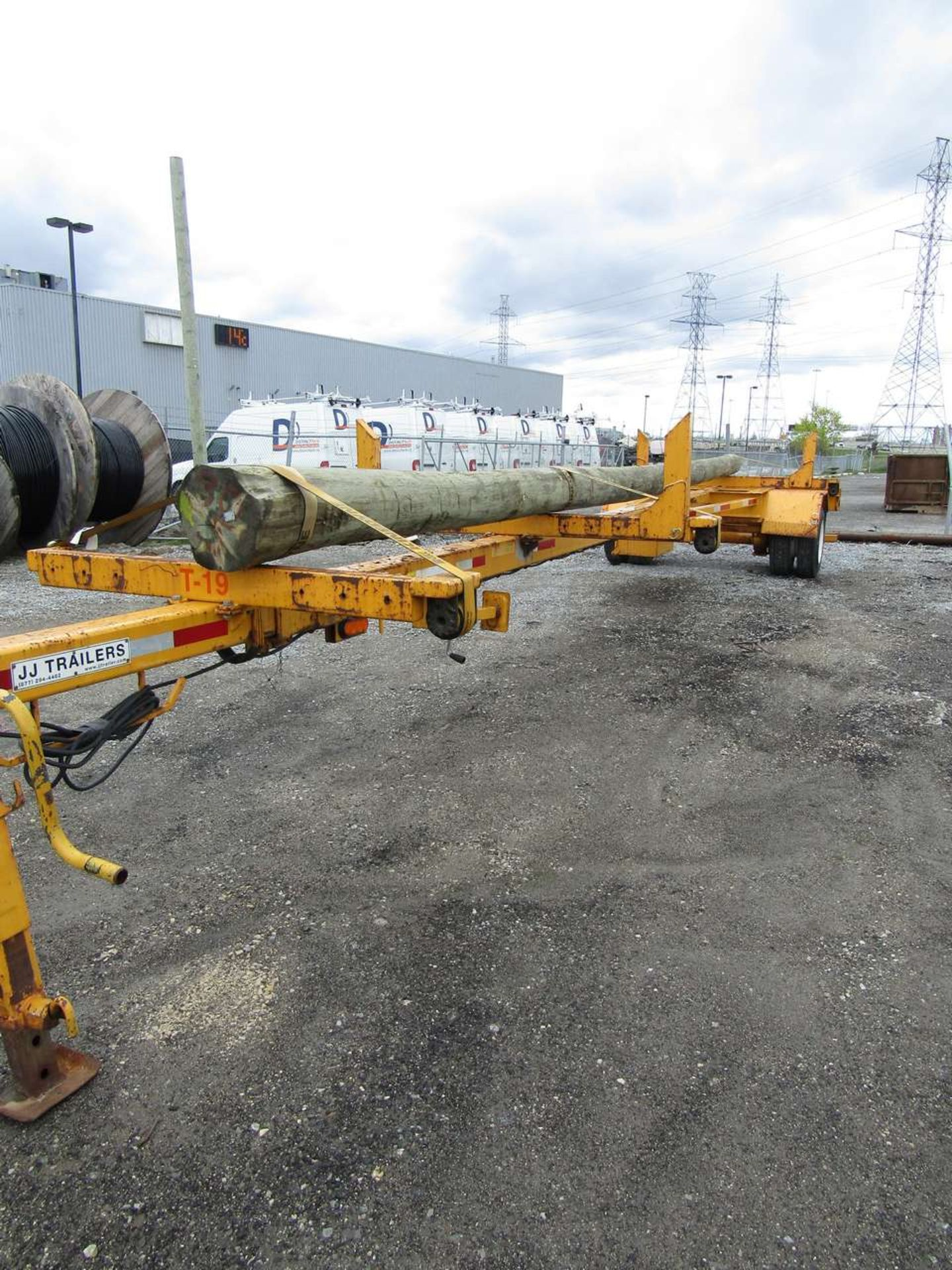 Lot 638 - 2014 JJ PT1 Pole Trailer T-19