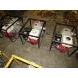 Lot 202 - Honda GX 160 Water Pumps