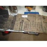 Lotto 41 - Approx.: 6 Cases of Various Wrenches & Sockets