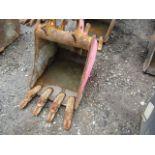Lot 528 - Excavator Bucket