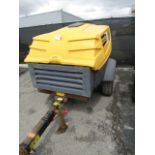 Lot 490 - Atlas Copco XAS 185 KD7 Compressor, 185 CFM