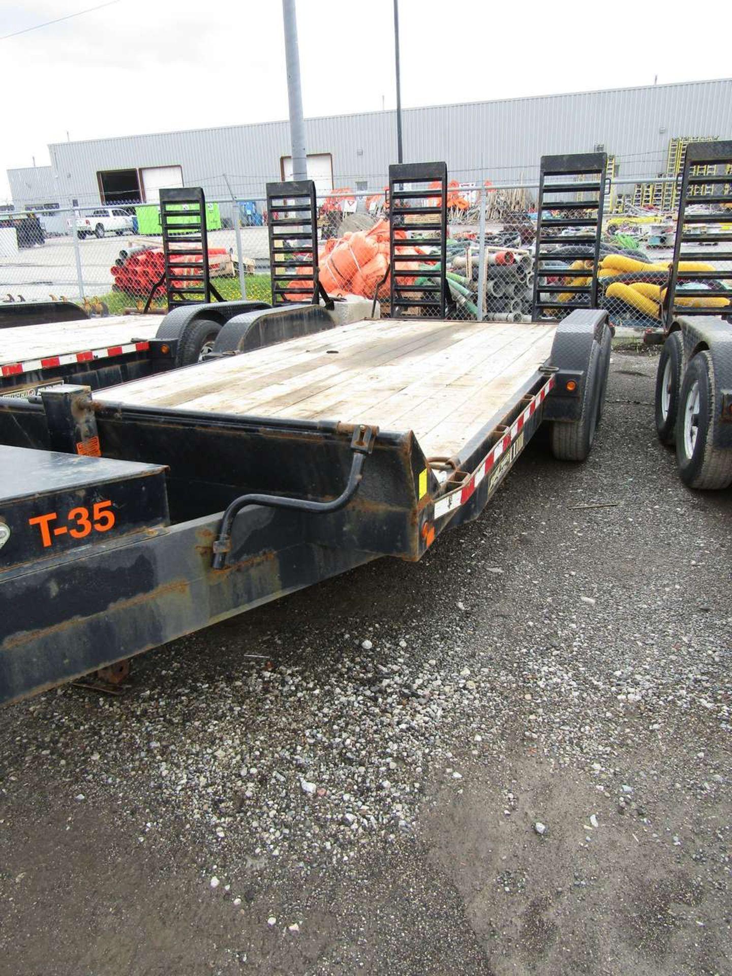 Lot 611 - 2015 Jensen 718 7 Ton Flat Deck