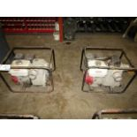 Lot 193 - Honda GX 240 Water Pumps