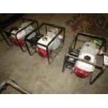 Lot 203 - Honda GX 160 Water Pumps