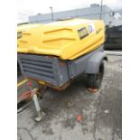 Lot 476 - Atlas Copco JD7 Compressor, 185 CFM