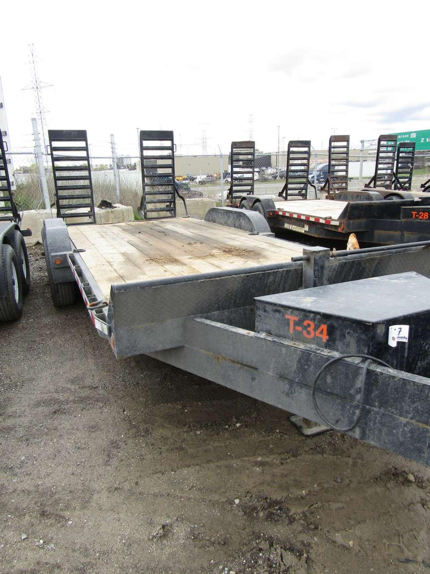 Lot 617 - 2015 Jensen 718 7 Ton Flat Deck
