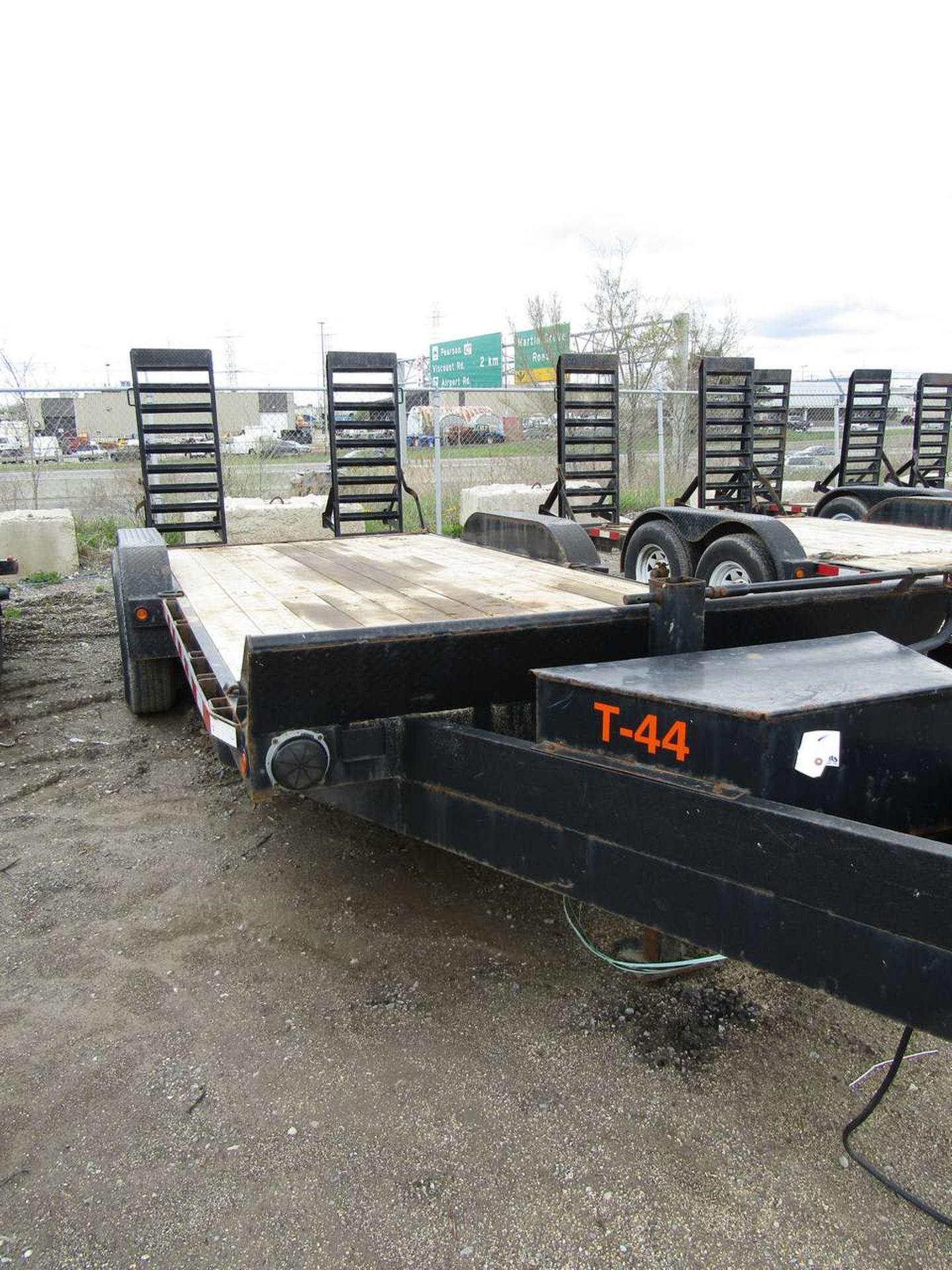 Lot 625 - 2015 Jensen 718 7 Ton Flat Deck