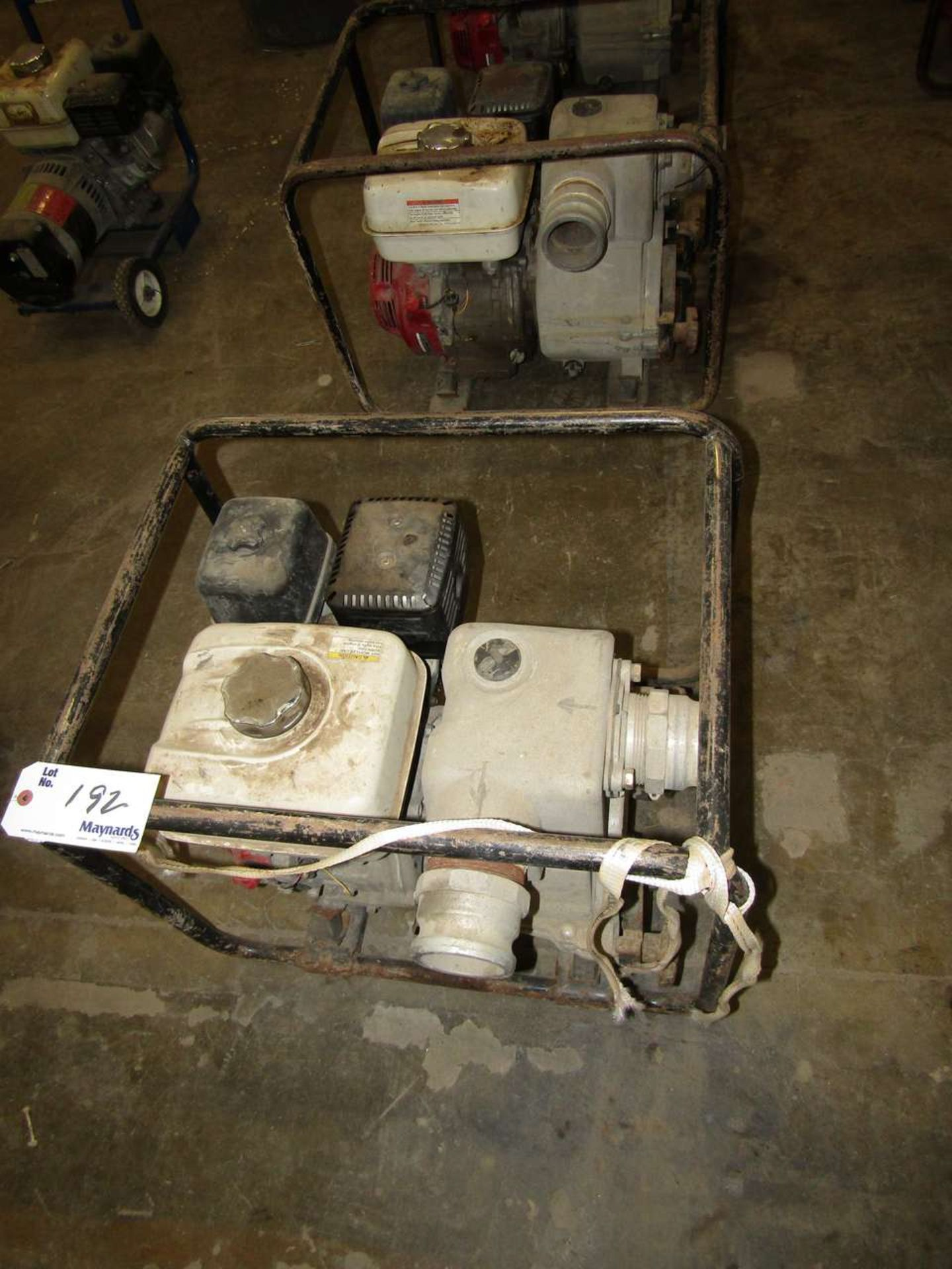 Lot 192 - Honda GX 240 Water Pumps