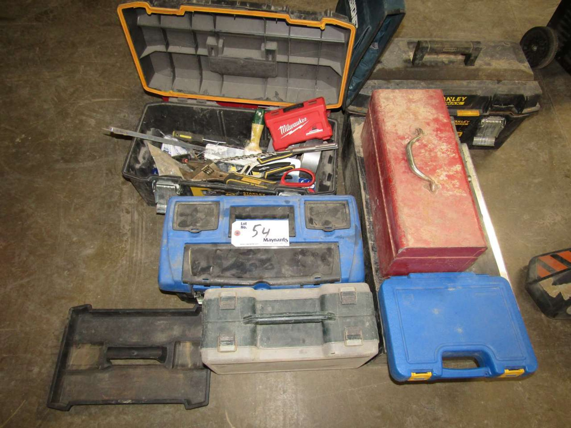 Lotto 54 - Approx.: 6 Tool Boxes/Cases