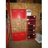 Lot 118 - 2 Worth Cabinets with 16 Drawer Unit