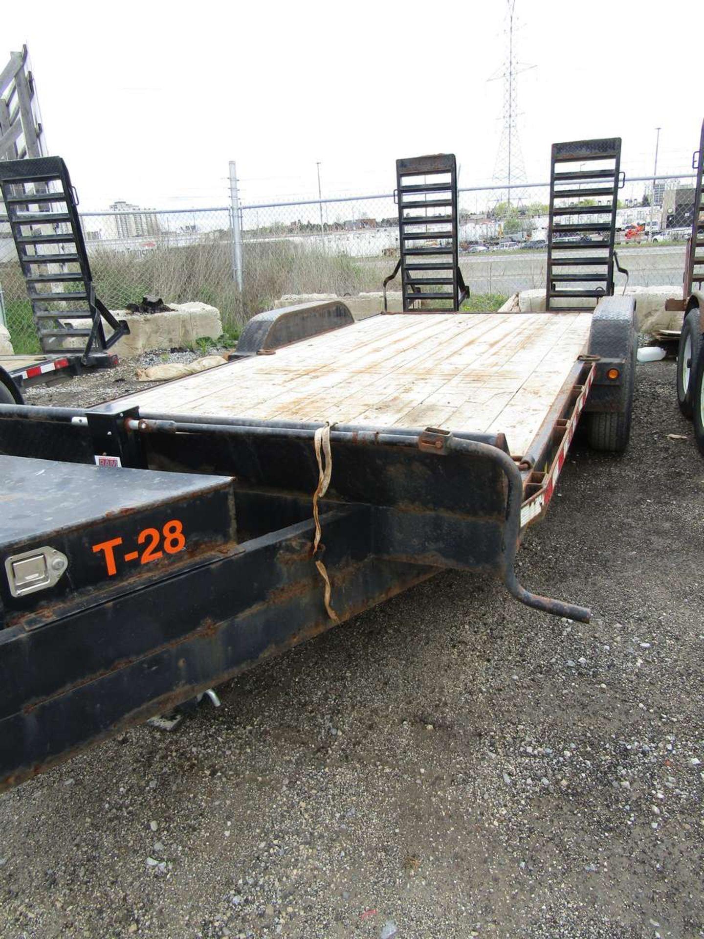 Lot 618 - 2015 Jensen 718 7 Ton Flat Deck