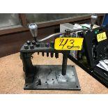 E-Z Tapper Hand Tapper Tapping Guide Machine