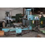 """Wotan Table Type Horizontal Boring Mill (Rotary Table) 