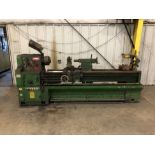 """Yang 22"""" x 78"""" Lathe (1994), Model YANG-56200G, 2-1/4"""" Spindle Bore, 25 to 1500 RPM, 10"""" 3-Jaw"""