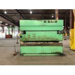 300 Ton x 12' Haco CNC Hydraulic Press Brake (1998), Model PPM36300, ATL 550 Control, Back Guage,
