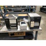 Zebra Z4M Thermal Label / Bar Code Printer, Zebra LP 2844 Direct Thermal Label Printer, TEC Bar Code