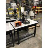 Sossner Pneumatic Impact 3.75 Ton Press, Model MB21, S/N 093009