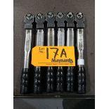 Sturtevant Richmont Preset Fixed Square Drive Clicker-Type Torque Wrenches