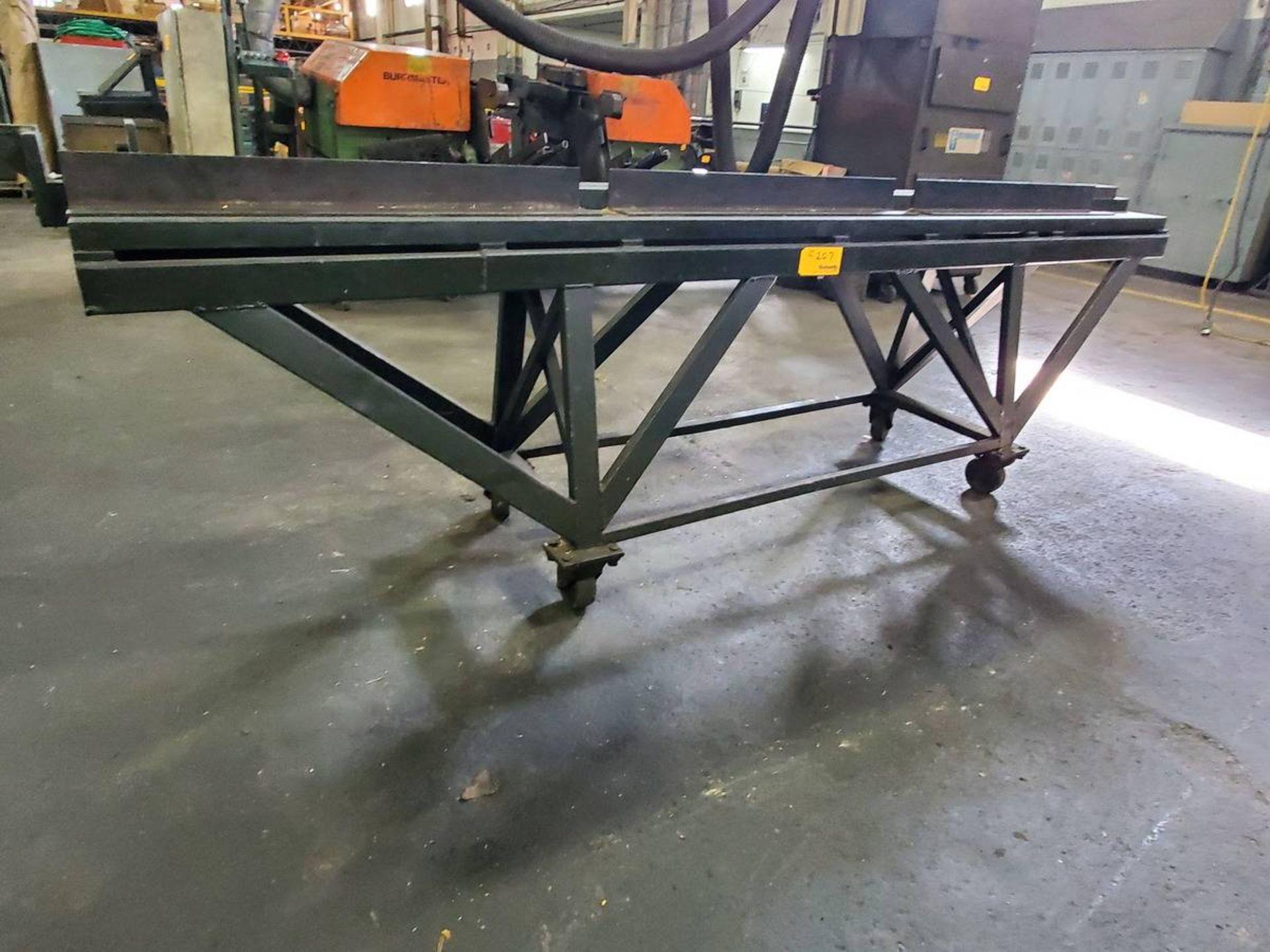 Lot 207 - Tubing Straightening Table