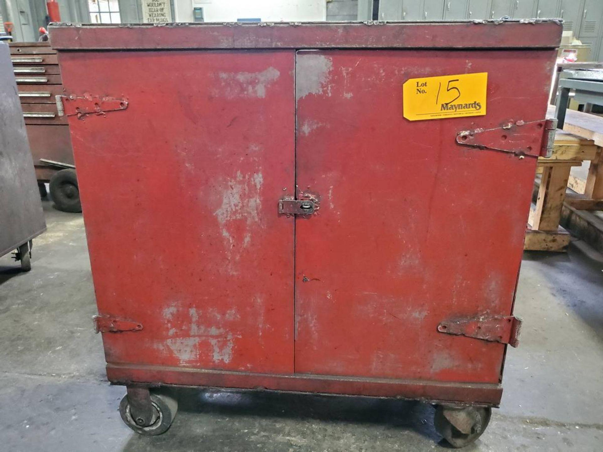 Lot 15 - Rolling 2-Door Toolbox