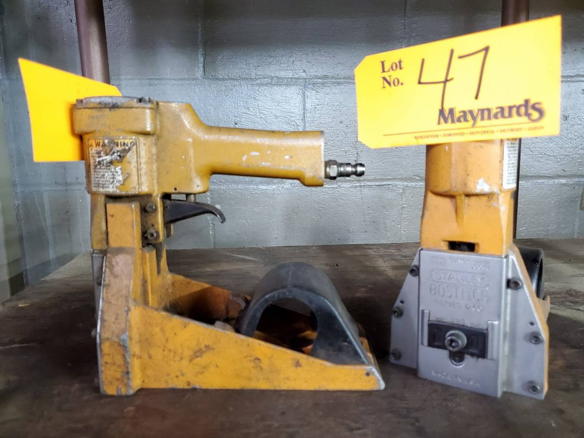 Lot 47 - Bostich Series 60 Industrial Stapler