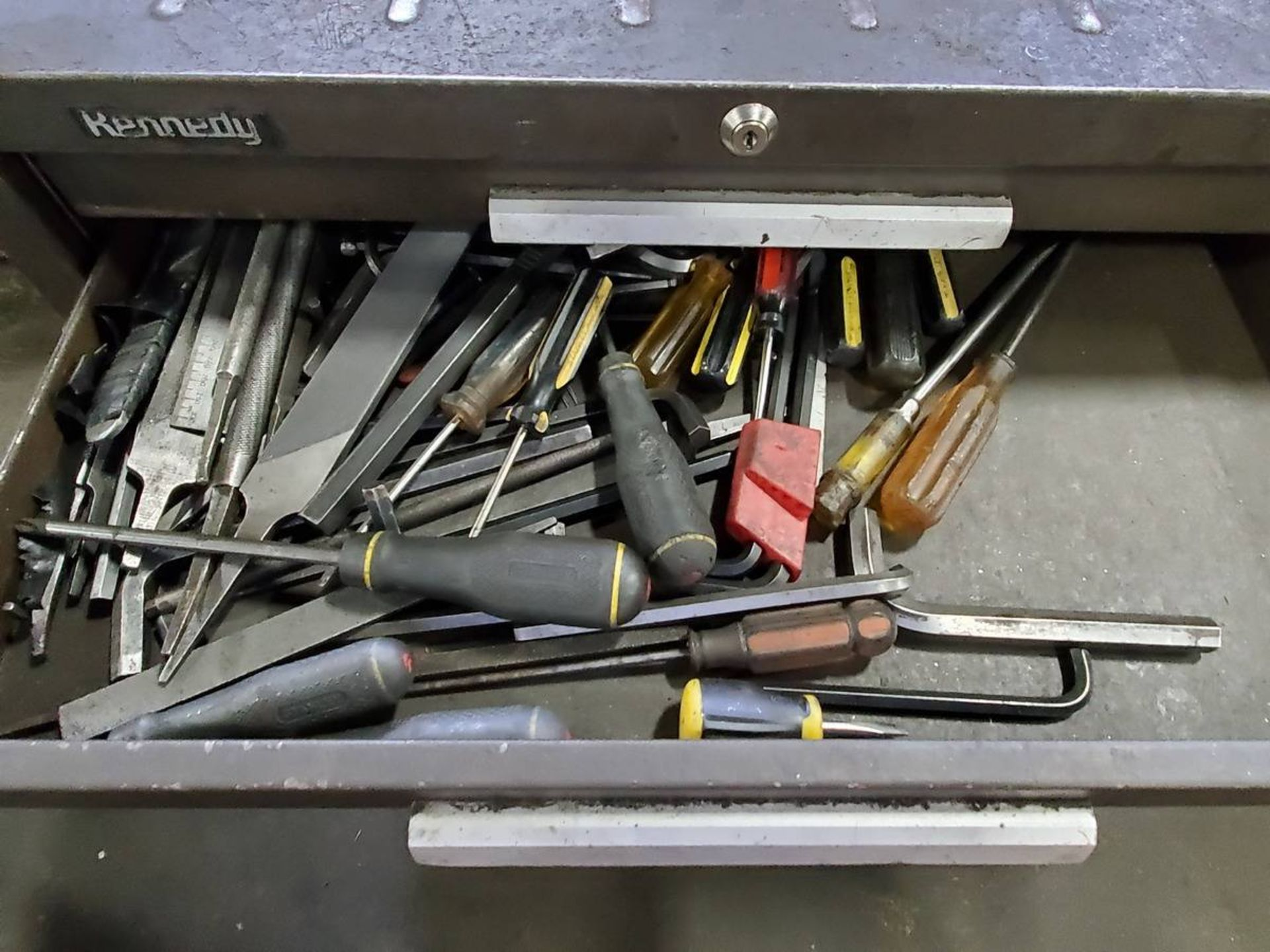 Lot 12 - Kennedy Rolling 7-Drawer Toolbox