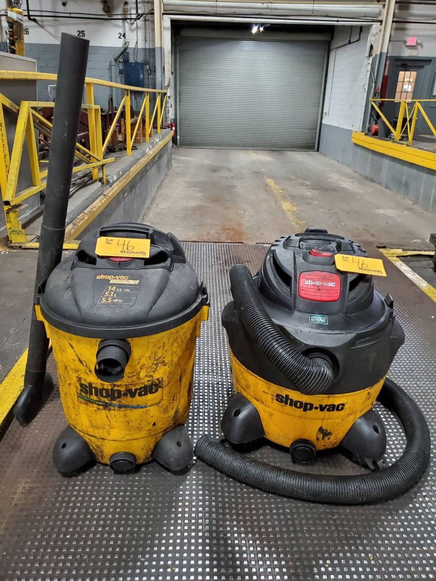 Lot 46 - Shop Vac SVX2 Shop Vacs