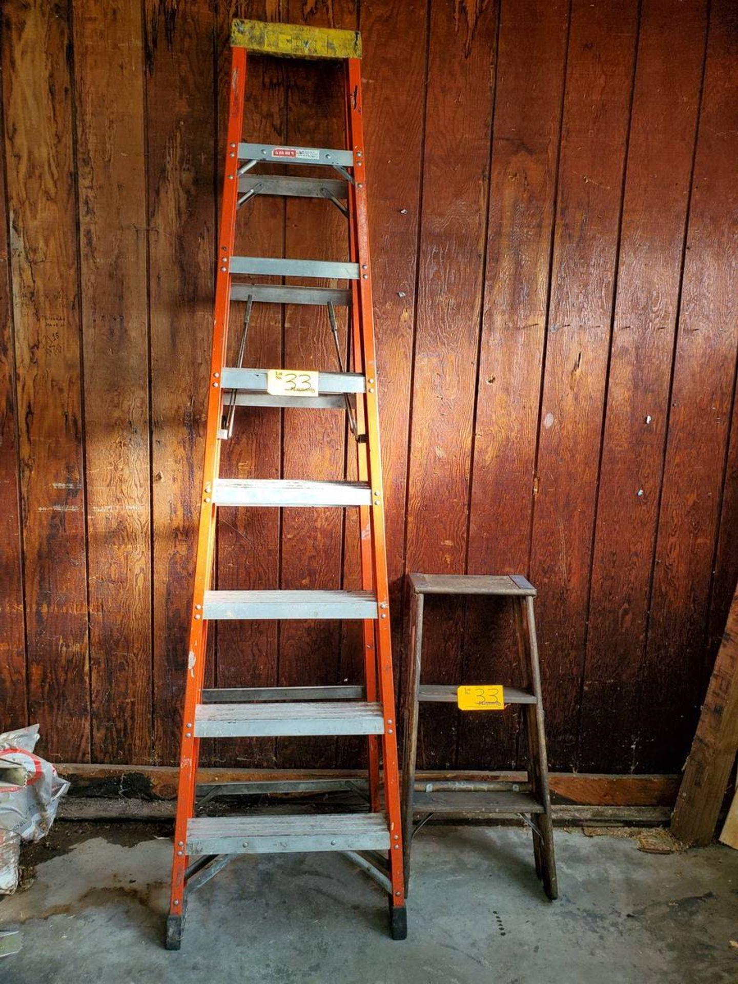 Lot 33 - Bauer Ladder