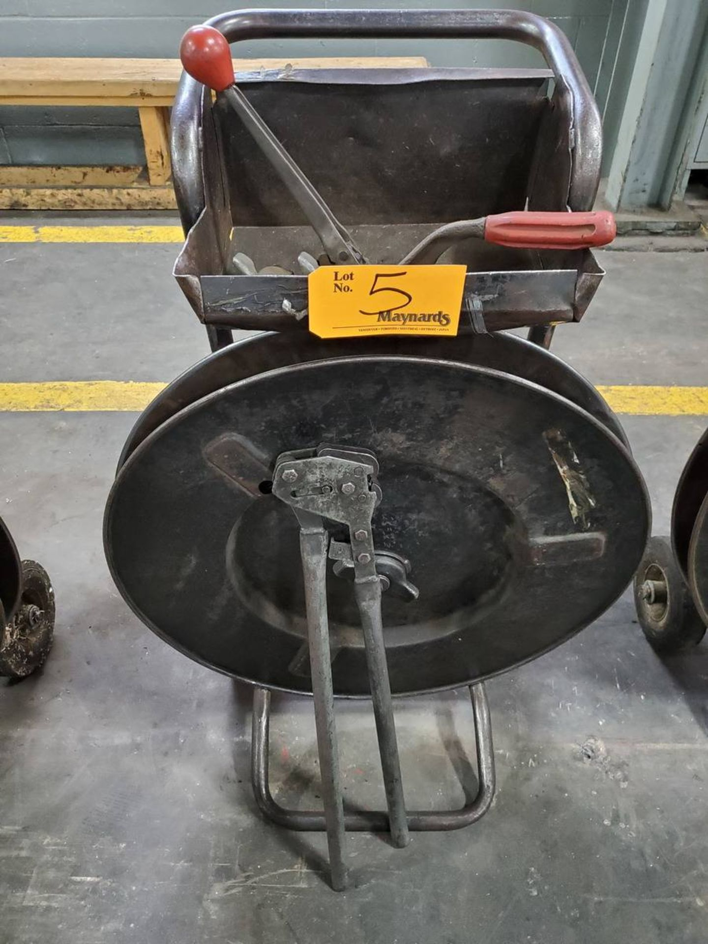 Lot 5 - Signode Banding Cart